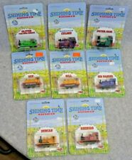 Eight (8) Small Engines - Thomas and Friends - Ertl - Shining Time Station- NIB!
