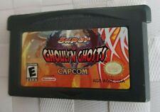 Super Ghouls 'N Ghosts (Nintendo Game Boy Advance, 2002) capcom loose