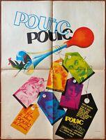 Plakat Pouic-Pouic Jean Girault Louis De Funès Mireille Darc 60x80cm