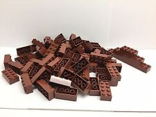 LEGO 3001 - 50 Brand NEW 2x4 Dark Brown Bricks Per Order