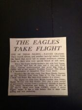 G9-1 Ephemera 1975 Article The Eagles Album Review One Of These Nights