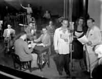 OLD CBS RADIO TV PHOTO Dateline A Weekly Cbs Radio News Program Ned Calmer