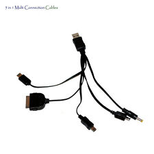 5in1 Multi Cable de conexión para PSP, NDS, NDSL, iPhone 4, de 5, 5C, 6, 6 Plus
