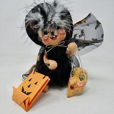 AnnaLee Halloween Figure Mouse/Witch Felt Tricker Treat Mask