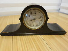 Antique Sessions 8 Day Mantle Clock For Decoration, Parts, or Repair