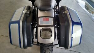 FXRT Clamshell Saddlebags Pannier Harley FXR Sportster Dyna Softail M8 Touring
