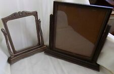 2 Antique ART DECO Swing FRAMES With Glass