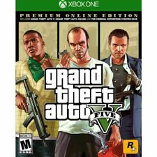 Grand Theft Auto V: Premium Online Edition (Xbox One, 2014) (0337) Free Shipping