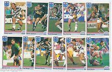 1992 Regina NSW Rugby League GOLD COAST SEAGULLS Team Set (11 Cards) ++++