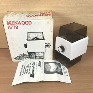 Kenwood A779 Major / Chef Coffee Grinder Attachment + Instructions Original Box