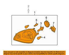 KIA OEM 05-07 Sportage-Headlight Assembly 921011F031
