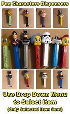 Pez Dispensers: Batman, Superman, Kermit the Frog, Miss Piggy, Star Wars + More