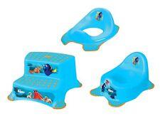 3 Z Set Disney Trouve Dorie pot WC bébé + rehausse WC + Tabouret WC formateur