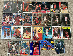 26 Michael Jordan 1990's insert and common Chicago Bulls bulk card lot 🏀🏀