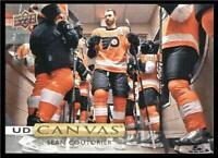 2019-20 Upper Deck UD Canvas #C34 Sean Couturier - Philadelphia Flyers