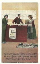 Humorous Love Romance Kissed me by Moonlight Moon Greetings  Postcard
