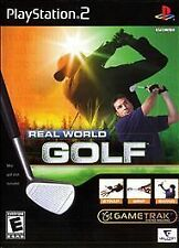 Real World Golf Bundle for Playstation 2 Brand New, Factory Sealed!