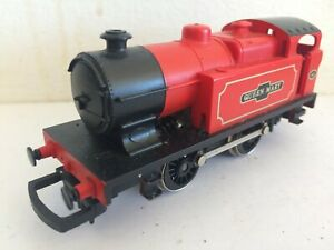 HORNBY R863 RED QUEEN MARY 0-4-0 TANK LOCO No 43 VGC fast runner