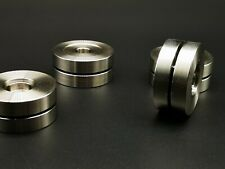 3x Solid Steel 45-20mm HiFi Isolation Stand Feet Base ceraball High End Isolator