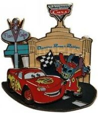 Disney Pin: DLRP Walt Disney Studios Invasion Series (Stitch/Lightning McQueen)