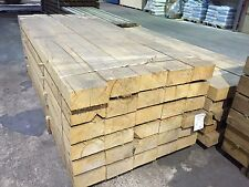 "100 x 200 x 2400mm New Oak Railway Sleeper (4"" x 8"" x 8ft)"