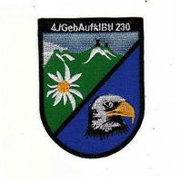 Aufnäher Patch 4. Kompanie Gebirgsjäger Aufklärungs Btl 230 Bundeswehr Verb.