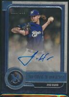 2019 Topps Museum Collection  Josh Hader Autograph Milwaukee Brewers