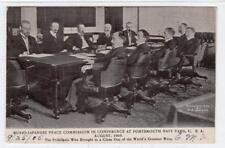 RUSSO-JAPANESE PEACE COMMISSION, PORTSMOUTH: New Hampshire USA postcard (C30995)