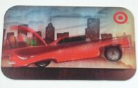 Target Gift Card Lenticular Bouncing Car - 2008 - No Value - I Combine Shipping