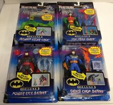 DELUXE BATMAN KNIGHTFORCE NINJAS  SET LOT OF FOUR ACTION FIGURES KENNER S-24