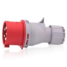 CEE-Stecker 32A 400V 6h IP44 5-polig(3P+N+E) Industriequalität CE RoHS TÜV REACH