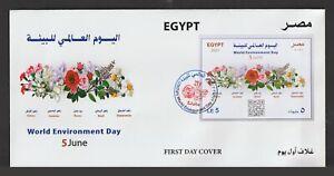 Egypt - 2021 - RARE - FDC - ( Maximum Card - World Environment Day )