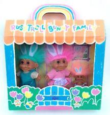 """My Lucky Bunny Family 6"""" Troll Doll Set"""