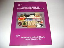 """Classic Guide To Vintage """"O"""" Plasticville- Bill Nole"""