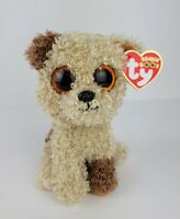 """Ty Beanie Boos 6"""" Rootbeer The Dog Glitter Eyes New Mint with Mint Tag"""