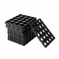 Espaciador de células 10Pcs 4x5 18650 Batería Titular de calor radiante Shell Pack de plástico caliente