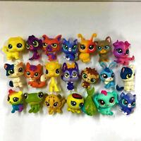 Littlest Pet Shop Lot 15Pcs Hasbro LPS Mini Figure Cute animal cat dog horse toy