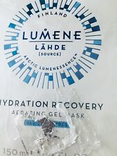 Lumene Lahde Hydration Recovery Aerating Gel Face Mask 5.1oz NEW UNOPENED