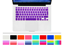 Spanish Silicone EU Keyboard Cover skin For Old Macbook Pro Air Retian 13 15 17