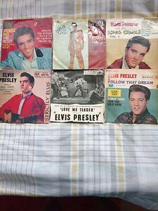 Elvis presley eps job lot