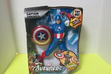 Captain America Ultra Strike Action Figure With Battle Sounds New In Box