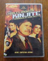 Kinjite Forbidden Subjects (1989) DVD Charles Bronson Region 1