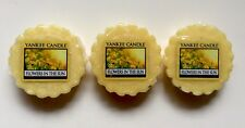 Yankee Candle FLOWERS IN THE SUN WAX MELTS TARTS X 3 HTF RETIRED FLORAL SCENT