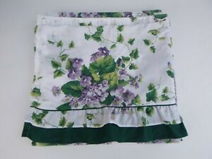 Waverly Sweet Violets Vintage Shower Curtain with Valance
