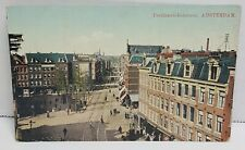 Ferdinand-Bolstraat Amsterdam Vintage Postcard