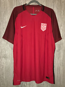 NIKE USA National Team Vapor Match Aeroswift Red Third Soccer Jersey S L XL 2XL