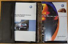 GENUINE VW FOX HANDBOOK OWNERS MANUAL 2005–2011 RCD 200 REF E-794