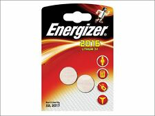 Energizer - CR2016 Coin Lithium Battery Pack of 2 - S351