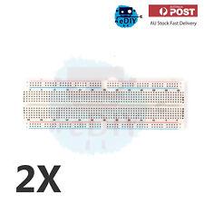 2 Pcs Prototype Shield Expansion Board 830 Bread Board Arduino Raspberry AU
