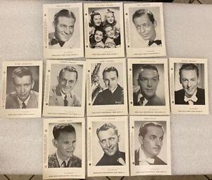 11 Frank Dailey's Terrace Room &  Meadowbrook Souvenir Photo Lot Dorsey Bros+